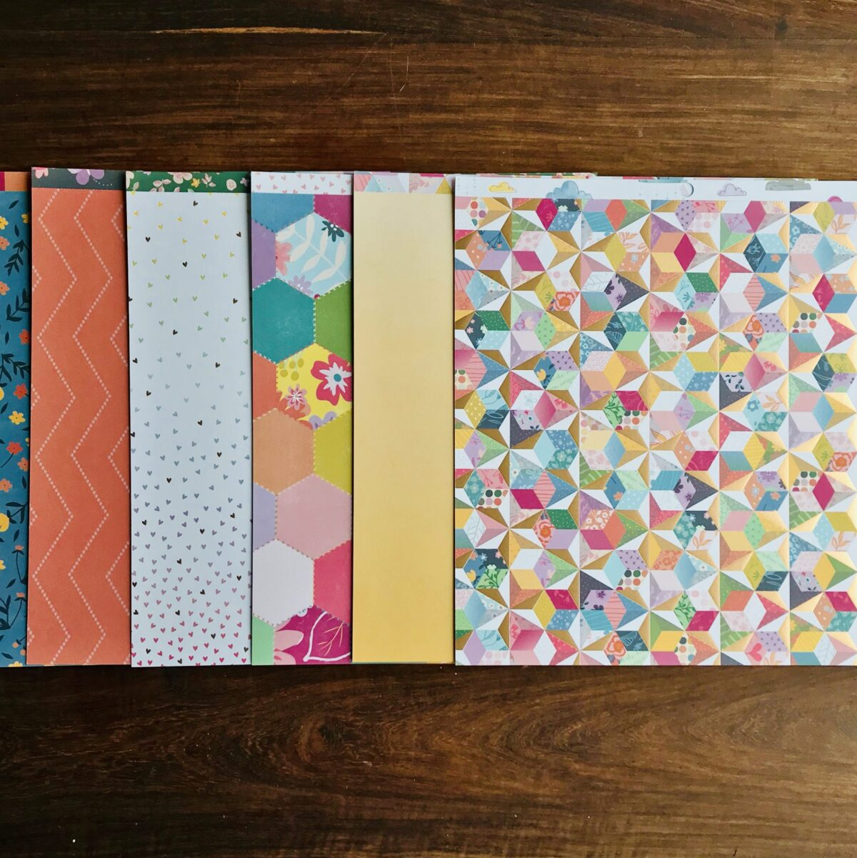 """12"""" patterned paper kits"""