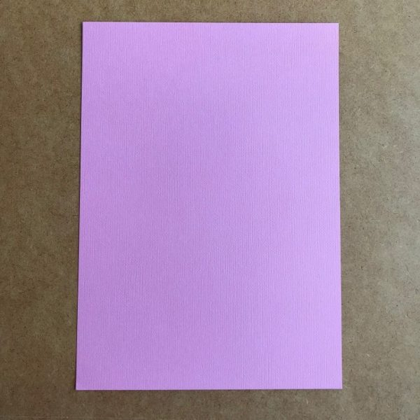 EB Textured Cardstock Bubblegum Pink A4 Pack Of 5