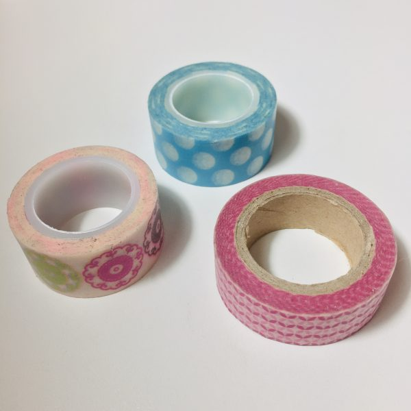 Washi Tape Sorbet Pack Of 3