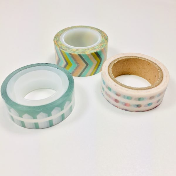 Washi Tape Patterns Pack Of 3
