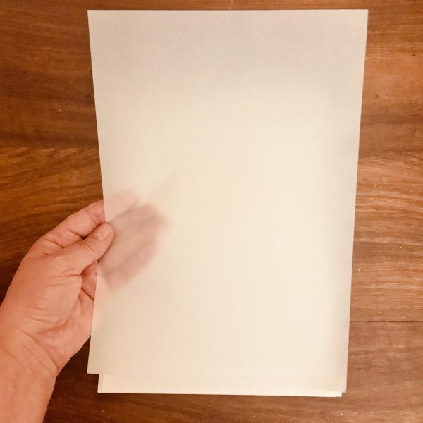 EB Crinkle Vellum A4 Sheets Pack Of 5