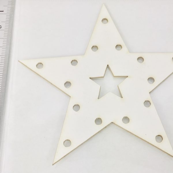 EB Chipboard Marquee Star