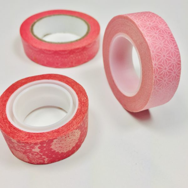 Washi Tape Pinkaliscious Pack Of 3