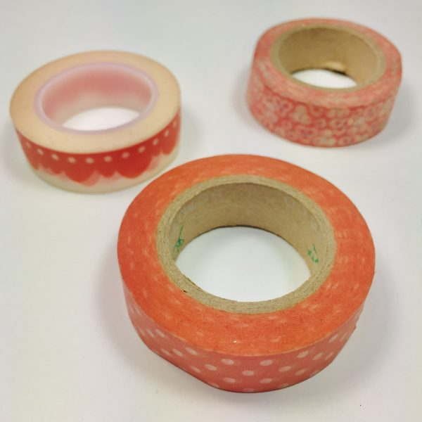 Washi Tape Tangelos Pack Of 3