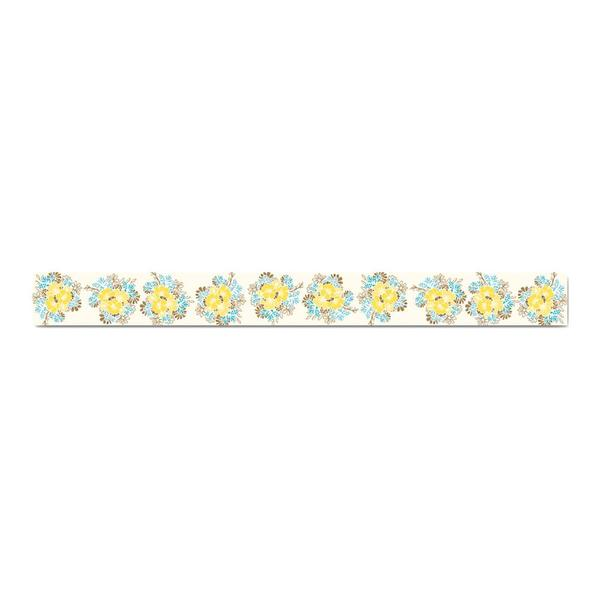 Prima Leeza Gibbons Wishes & Dreams Yellow Floral Washi Tape
