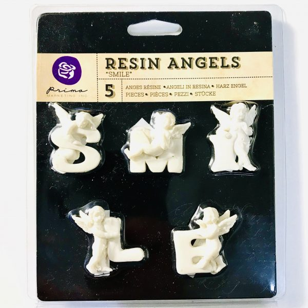 Prima Marketing Resin Angels Smile