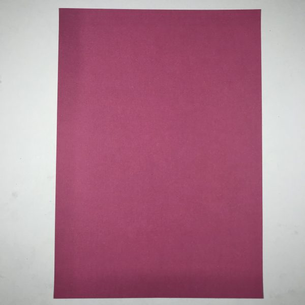 EB Textured Cardstock Rhubarb A4 Pack Of 5