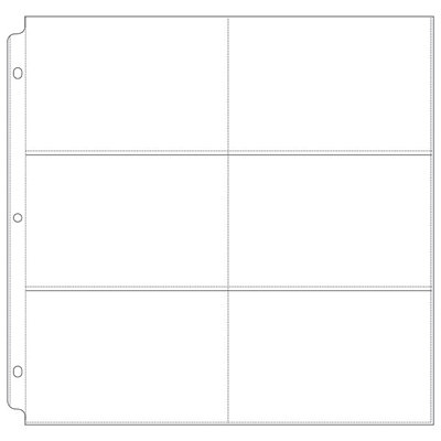 WRMK Project Life 12 x 12 inch Page Protectors Pack of 3