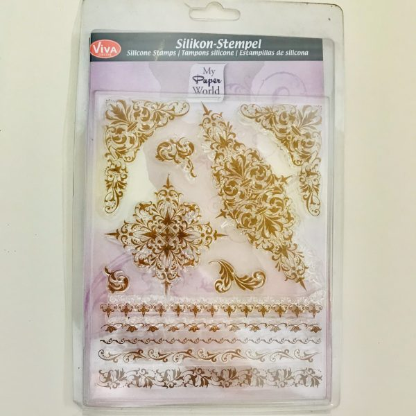 EB Viva Decor Silicone Stamp Set Borders & Motifs