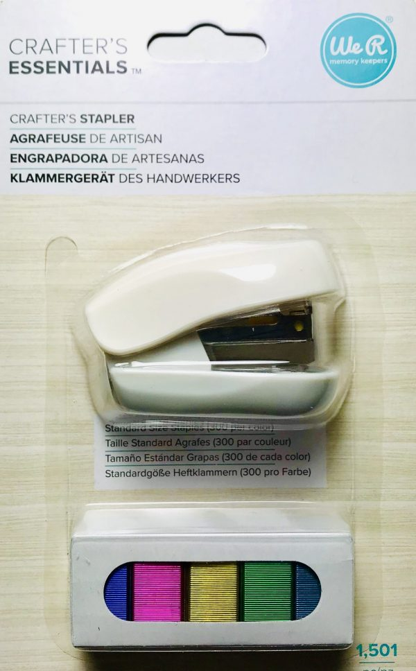 American Crafts WRMK Crafters Stapler WHITE