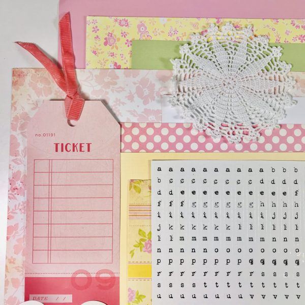 Ticket To Love Romantic Love Kit
