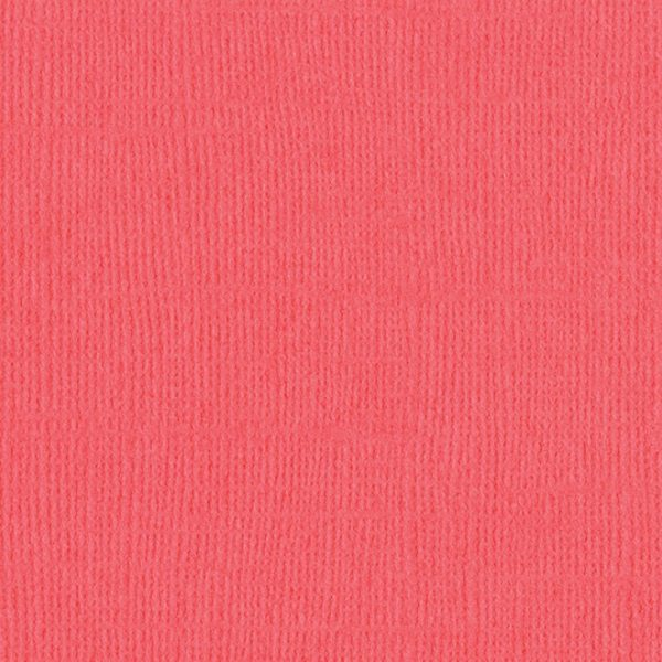 EB Textured Cardstock Living Coral Pack Of 4