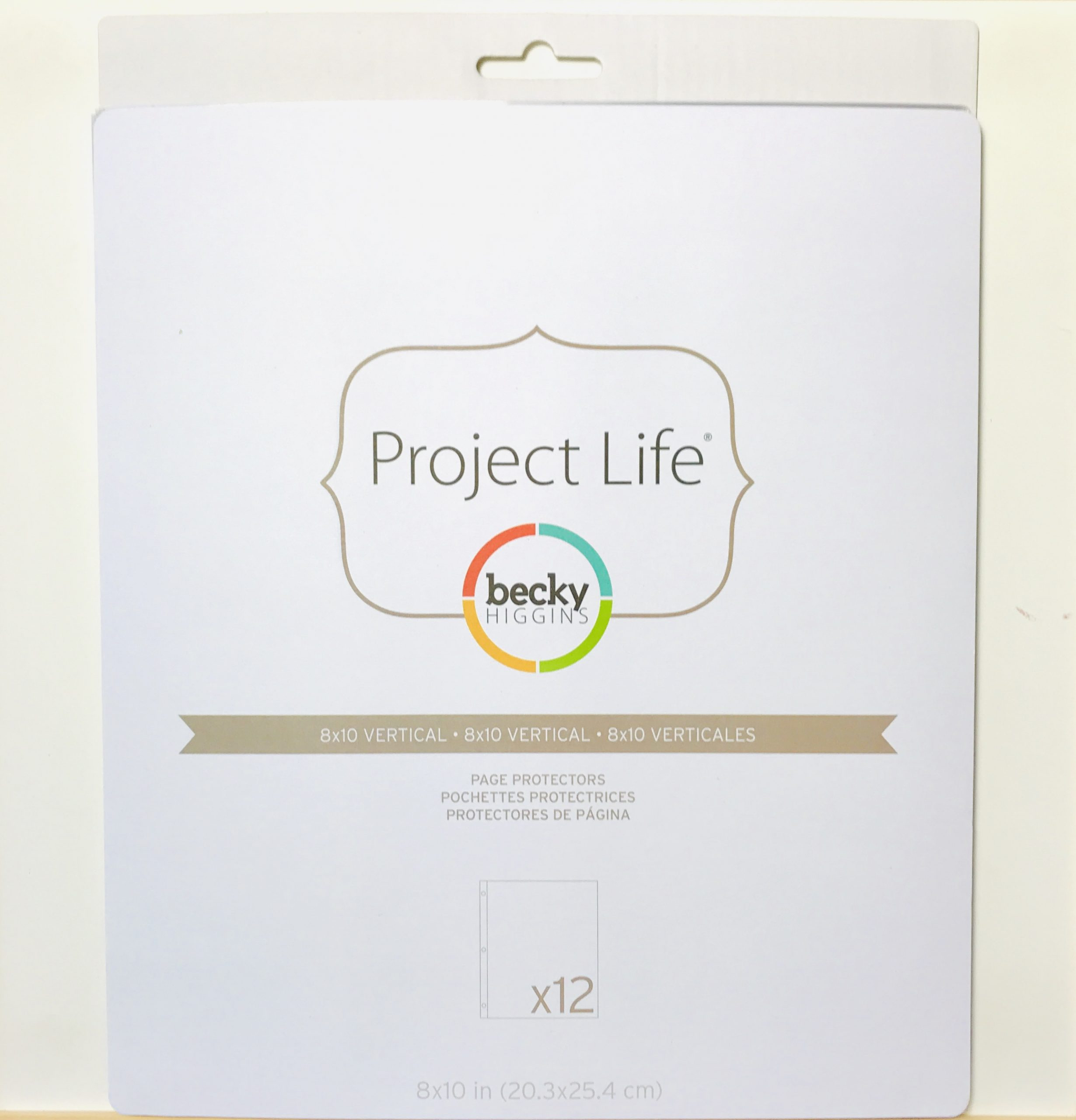 """Becky Higgins Pack of 12 Page Protectors 8"""" x 10"""""""