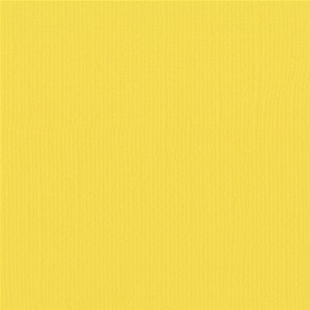 EB Textured Cardstock Bright Butter Pack Of 4