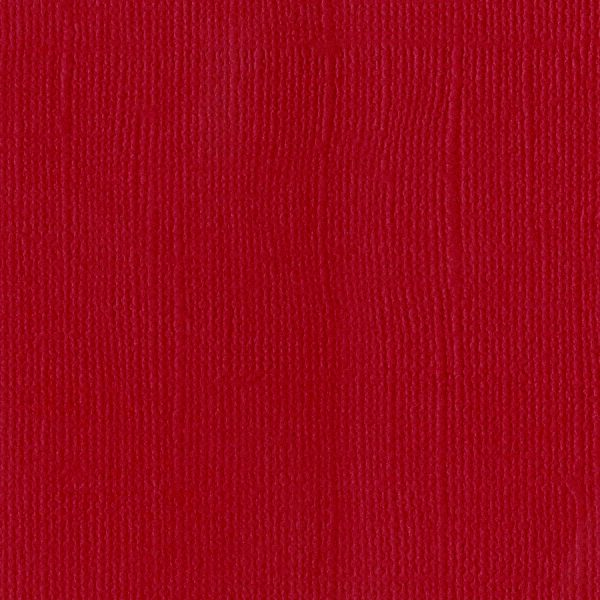 Bazzill Mono Textured Cardstock Red Pack Of 4