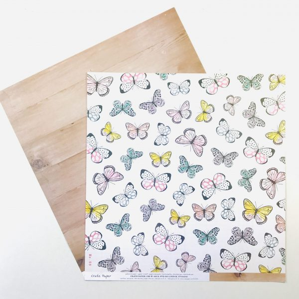 American Crafts Crate Paper Bloom Paper Pack of 2