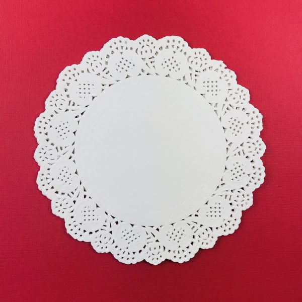 American Crafts Recollections 6 Inch Doilies Pack of 5