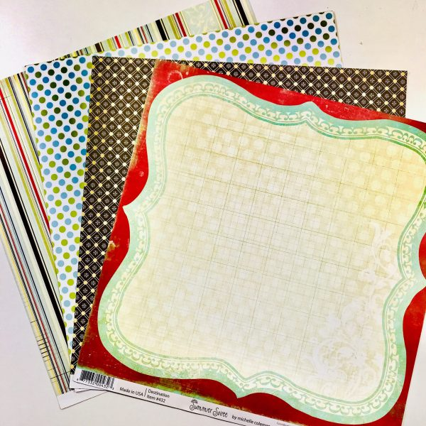 Eclectic Prints Paper Pack Of 4