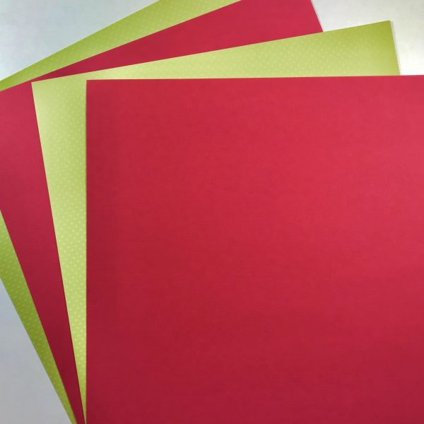 EB Textured Cardstock Christmas Pack Of 4