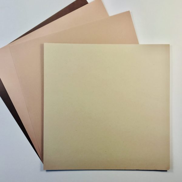 EB Textured Cardstock Shades Of Brown Pack Of 4