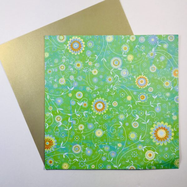Floral Glitz Paper Pack Of 2