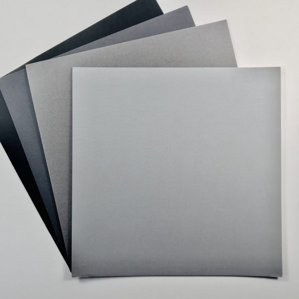 EB Textured Cardstock Shades Of Grey Pack Of 4