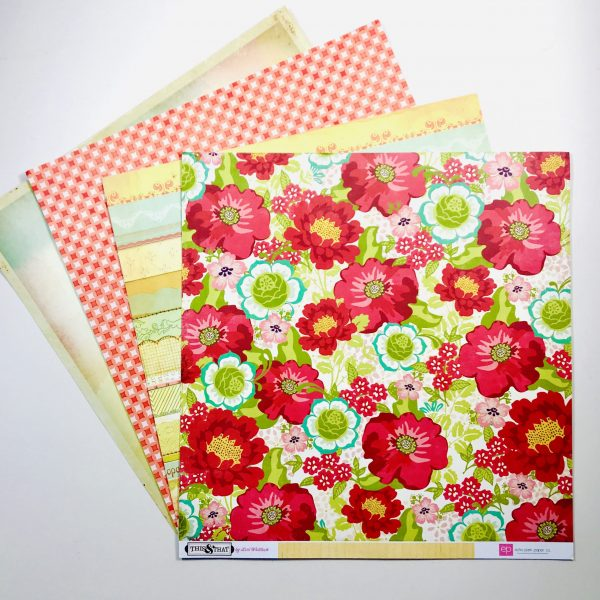 Colours Of Summer Paper Pack Of 4