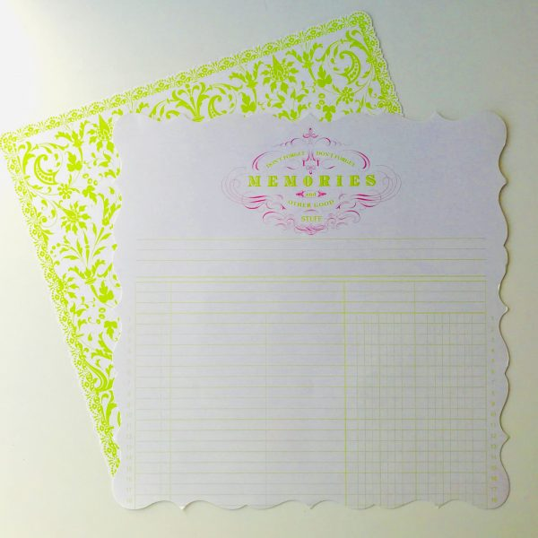 Memories Speciality Paper Pack Of 2