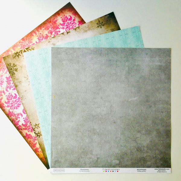 Winter Shades Paper Pack Of 4