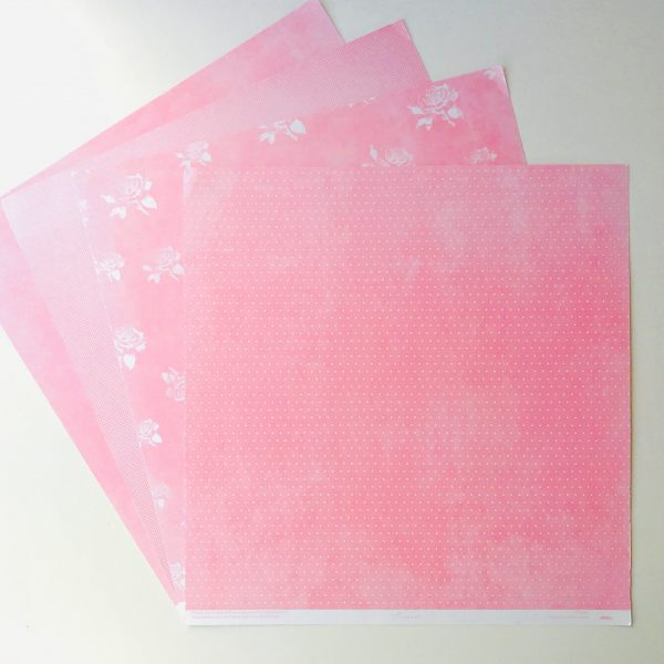 Shades Of Pink Paper Pack Of 4