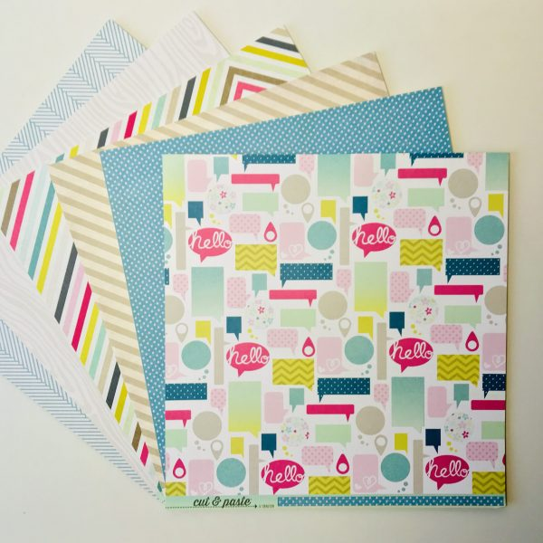 Cut And Paste Paper Pack Of 6