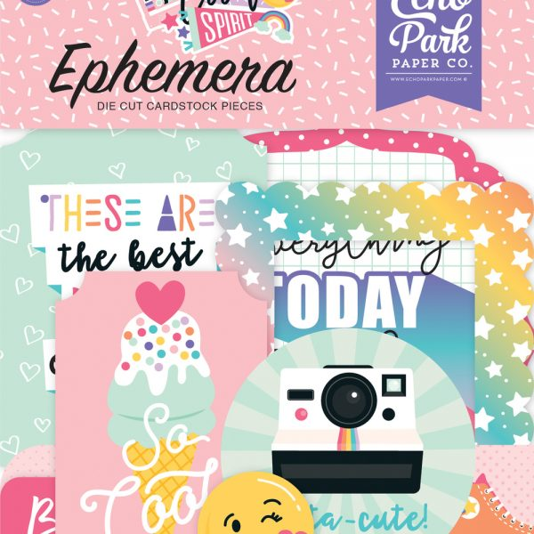 Echo Park Teen Spirit (Girl) Ephemera Pack