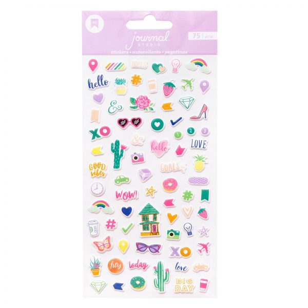 American Crafts Journal Studio Puffy Stickers