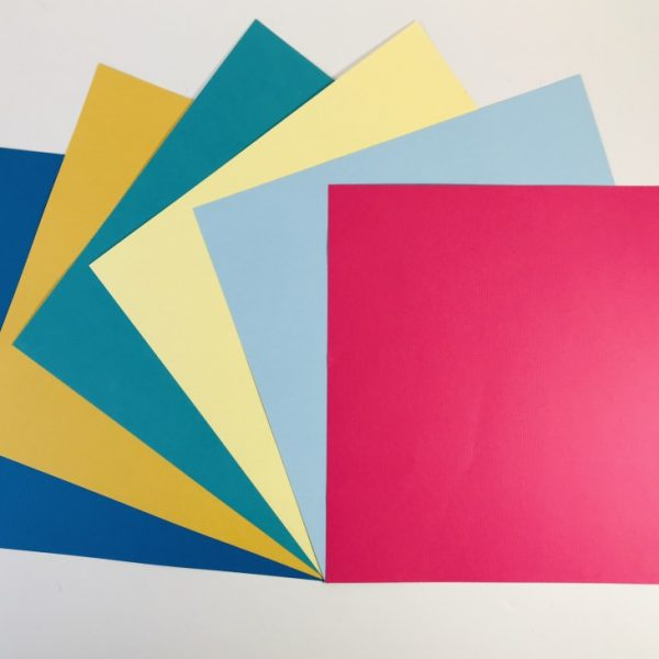 EB Textured Cardstock Rainbow Pack Of 6