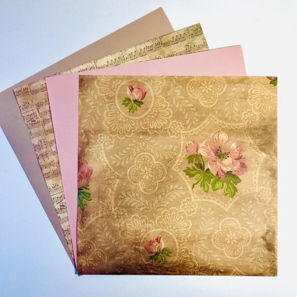 Vintage Doilies Paper Pack Of 4